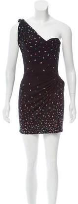Issa Silk One-Shoulder Dress