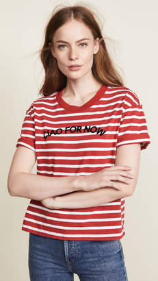 Madewell Leanna Ciao For Now Bumblebee Stripe Tee