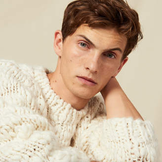 Sandro Hand-knitted sweater