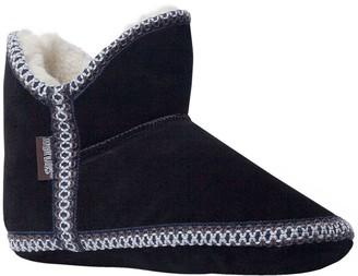 Muk Luks Women's Suede Amira Slipper Boots