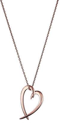 Shaun Leane Signature rose-gold vermeil heart pendant