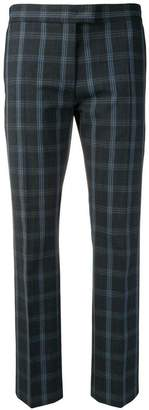 Paul Smith cropped check trousers