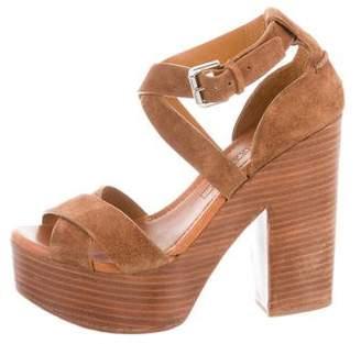 Ralph Lauren Ankle Strap Platform Sandals
