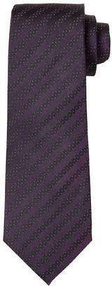 Banana Republic Polka Dot Stripe Silk Nanotex® Tie