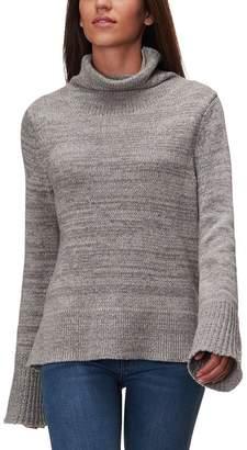 White + Warren Bold Rib Funnelneck Sweater - Women's