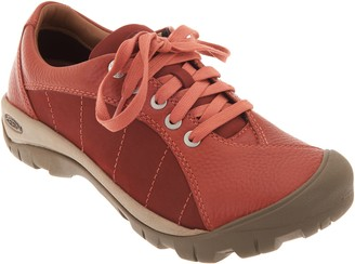 Keen Leather Lace-Up Shoes - Presidio