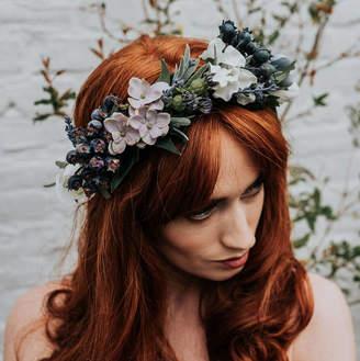 Luna and Wild Ariel Flower Crown