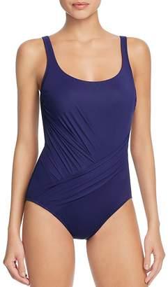 Gottex Landscape Maillot One Piece Swimsuit $158 thestylecure.com