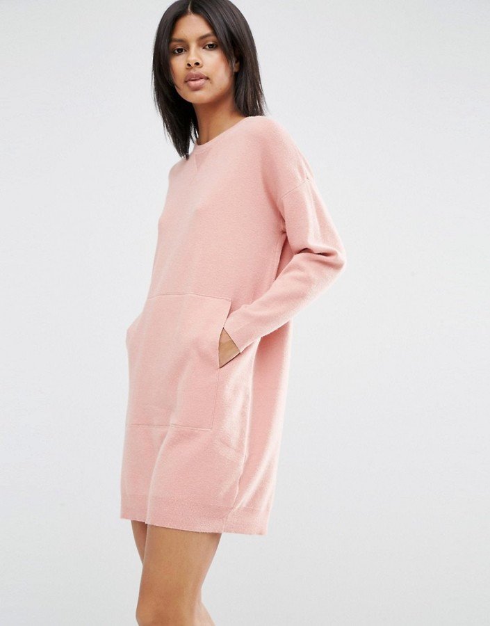 ASOS Lounge Knitted Sweater Dress