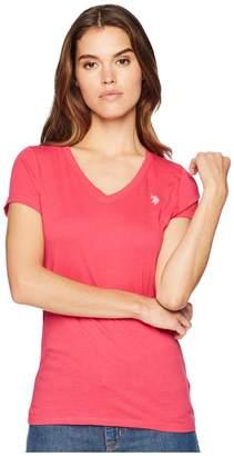 U.S. Polo Assn. Tonal Embroidered T-Shirt Women's T Shirt