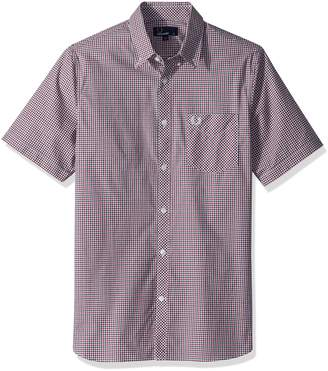 Fred Perry Men's Three-Colour Gingham Shirt
