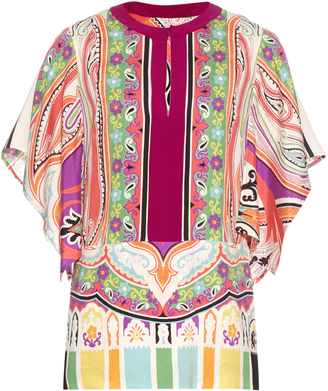 ETRO Paisley and floral-print silk-blend blouse $1,004 thestylecure.com