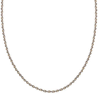 STERLING SILVER CHAINS Silver Reflections Two-Tone Sterling Silver Butterfly Twist 30 Chain Necklace
