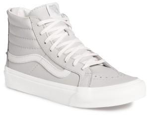 Women's Vans 'Sk8-Hi' Slim Zip Sneaker $84.95 thestylecure.com