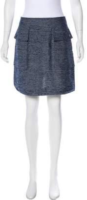 Stella McCartney Tweed Mini Skirt