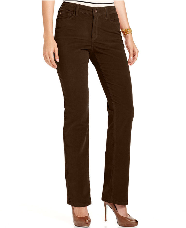 Not Your Daughter's Jeans Pants, Marilyn Straight-Leg Corduroy
