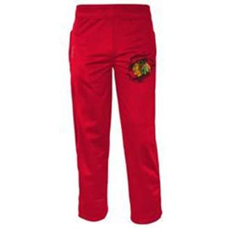 Reebok Chicago Blackhawks Youth PlayDry Center Ice Collection Sweatpants