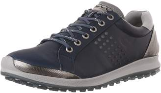 Ecco Shoes Men's Biom Hybrid 2 Golf Shoes, Denim Blue/Aqauatic