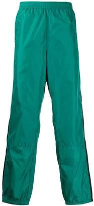 Acne Studios contrasting stripe track trousers