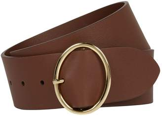 Andersons Leather Oval-Buckle Belt