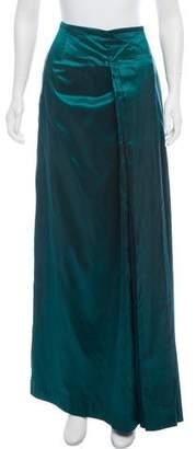 Pauw Silk Maxi Skirt