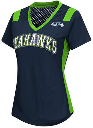 G-iii Sports Women Seattle Seahawks Wildcard Jersey T-Shirt