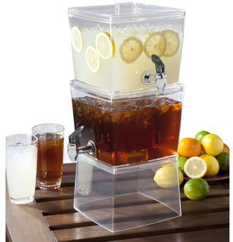 Creative Bath 1.5 Gal Stacking Beverage Dispenser