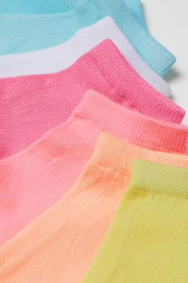 H&M 7-pack Ankle Socks - Yellow