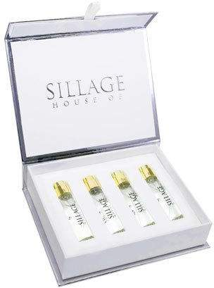 House of Sillage Or Travel Spray Refill Tiara, 4 x 0.27 oz./ 8 mL