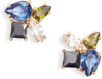 Kate Spade Flying Color Cluster Stud Earrings