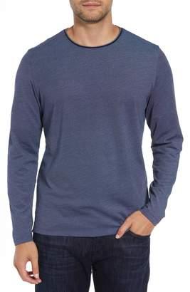 Robert Barakett Grand Forks Long Sleeve Pique T-Shirt