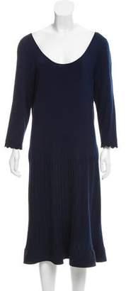 Ralph Lauren Black Label Silk Midi Dress