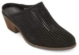 Me Too Zara Perforated Leather Mules