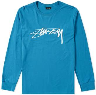 Stussy Long Sleeve Smooth Stock Tee