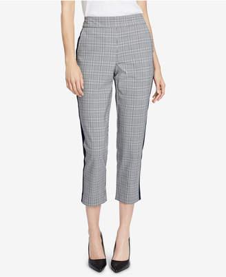 Rachel Roy Cropped Plaid Pants