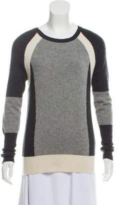 Autumn Cashmere Lightweight Cashmere Sweater Grey Lightweight Cashmere Sweater