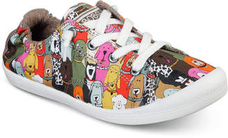Skechers Women Bobs Beach Bingo - Dog House Party Bobs for Dogs Casual Sneakers from Finish Line