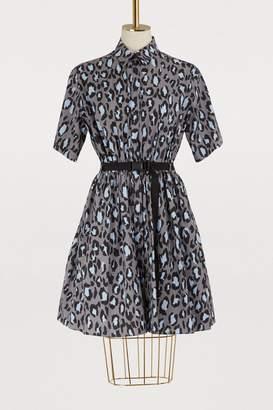 Kenzo Leopard short dress