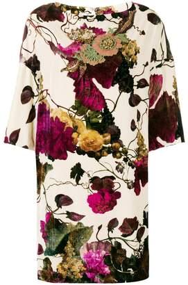 Antonio Marras floral shift dress