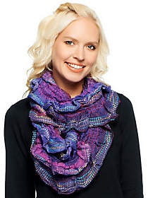 Collection XIIX As Is Collection 18 Textured Scrunch Infinity Scarf $5 thestylecure.com