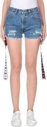 Odi Et Amo with LEVI'S Denim shorts