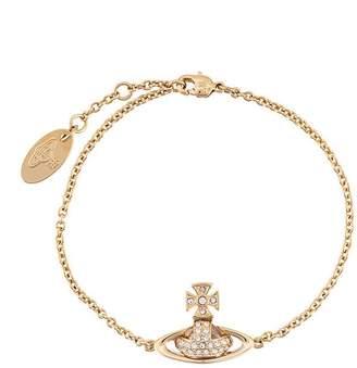 Vivienne Westwood rhinestone embellished bracelet