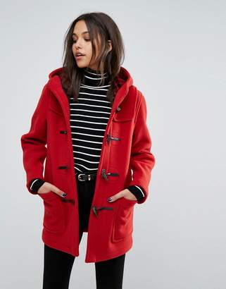 Gloverall Classic Mid Length Duffle Coat