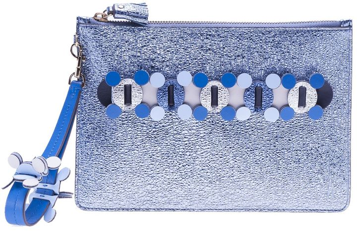 Anya HindmarchAnya Hindmarch Embellished Clutch Bag