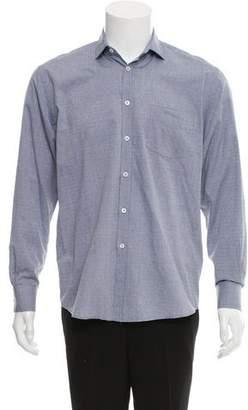 Billy Reid Polka-Dot Button-Up Shirt