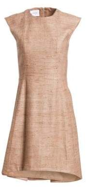 Akris Punto Double-Hem Cap Sleeve Dress