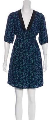 Yumi Kim Mini Deep-V Dress