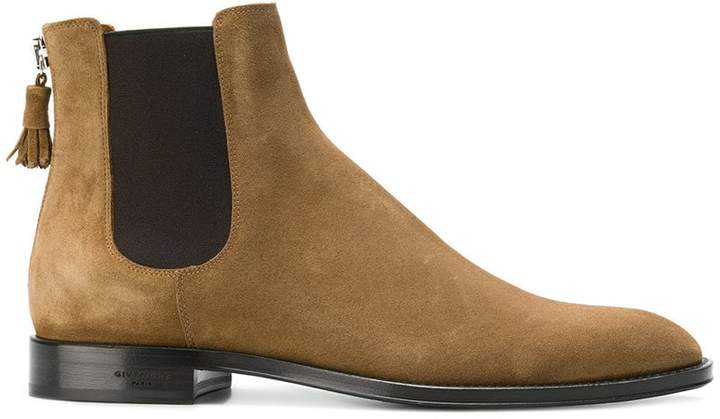 Givenchy rear-tassel Chelsea boots