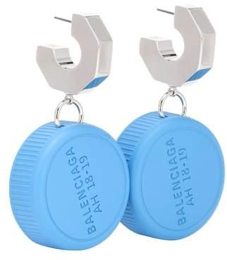 Balenciaga Bottle Cap earrings