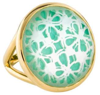 Ippolita 18K Mother of Pearl, Quartz & Amazonite Polished Rock Candy Ring